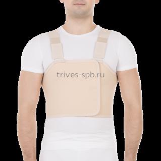 Бандаж послеоперационный на грудную клетку, мужской Т.23.09 (Т-1339)
