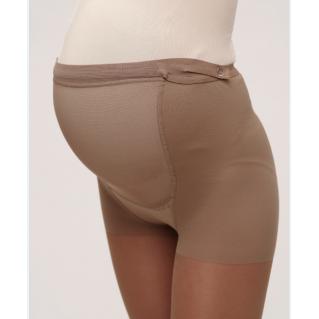 Колготки компрессионные Ergoforma UP для беременных 1 класса компрессии с закрытым носком, телесные EU 113