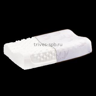 Ортопедическая подушка массажная для подростков из латекса Т.705 (ТОП-205)