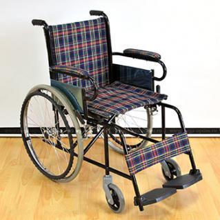 Инвалидная коляска стальная FS 809 B-41(46)