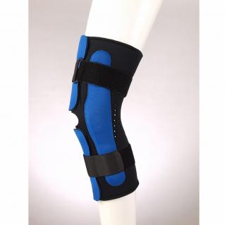 Ортез коленный разъемный с полицентрическими шарнирами удлиненный (наколенник) Fosta FL 1293