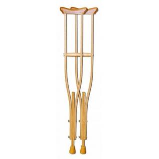Костыли подмышечные деревянные для взрослых Мега-Оптим 01-КИ