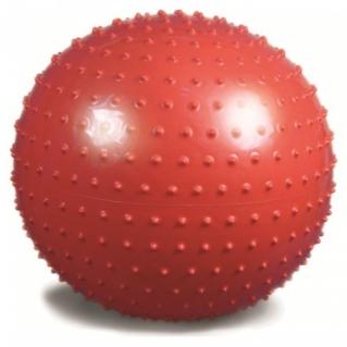 Мяч гимнастический (игольчатая поверхность) красный Ортосила L 0565 b, диаметр 65 см